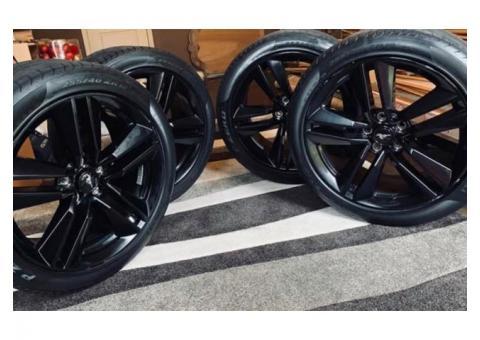 2015 Mustang Blackout Rims