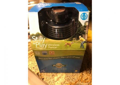 Stay+Play wireless fence